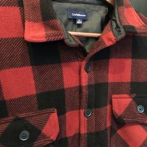 Buffalo Plaid Shirt Jacket